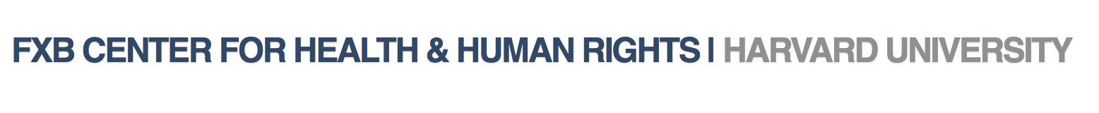 FXB center for health & human rights harvard