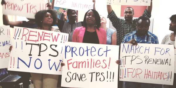 Lawmakers, Activist and Faith-Based Organizations Press for TPS Extension For Haiti