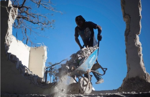 Haiti: Up from the rubble after quake