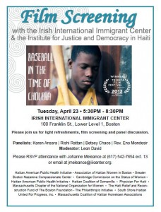 Film Screening-Baseball in the Time of Cholera (English)
