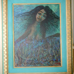 La Sirene by Fritz Ducheine, Acrylic - size 22*30
