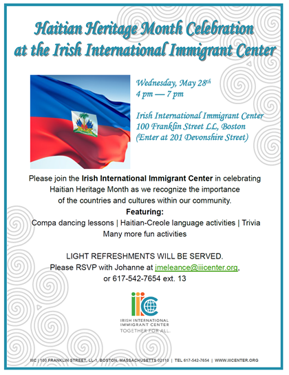 IIIC-Haititan Heritage Month