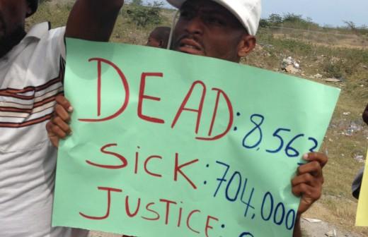 Cholera Justice Update 2014-2015