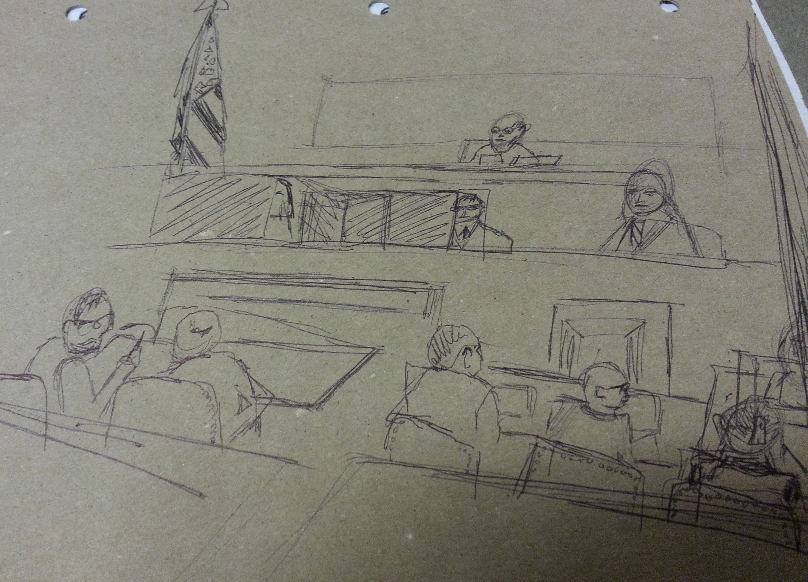 CourtroomSketch - byGillian