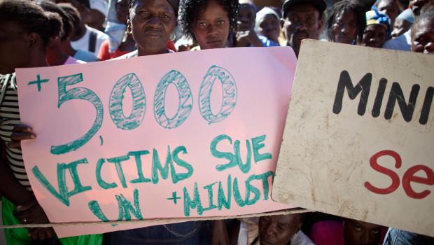 5000 victims sue UN