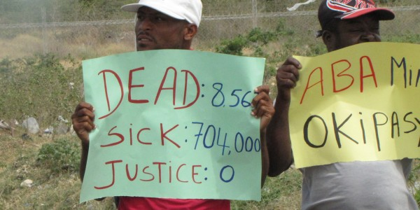Senators demand US lead on UN accountability and immediate action for Haiti cholera