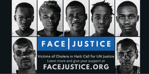 "Haitian Cholera Victims Tell UN to ""Face Justice"""