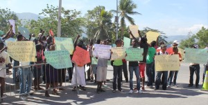 Cane Cutters Protest