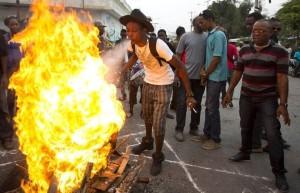 Haiti+Elections_violence fire Miami Herald