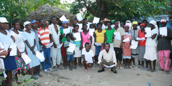Haitian Cholera Victims Deliver 2,000 Personal Letters to United States Embassy