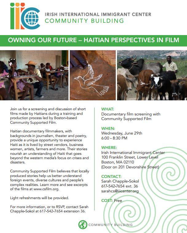 IIIC HaitianFilmScreening