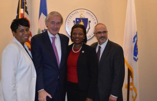 MA Senators Markey and Forry Discuss Aid and Cholera Accountability at the State House