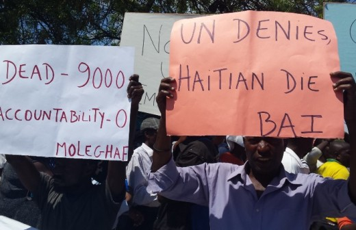 Looking at UN responsibility to repair the damage caused by cholera