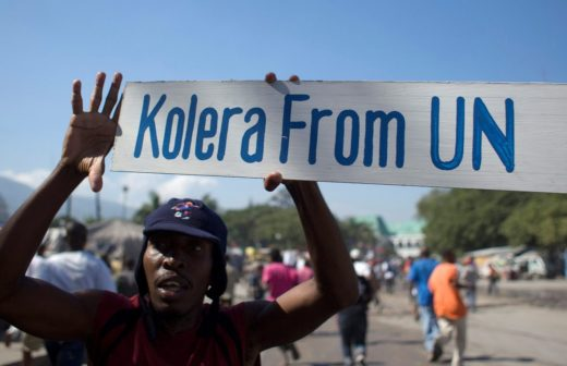 Advocates Denounce UN Breaking Promise of Compensation for Cholera Victims