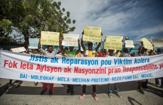 Cholera Victims' Advocates Denounce UN's Evasion of Responsibility in Kosovo