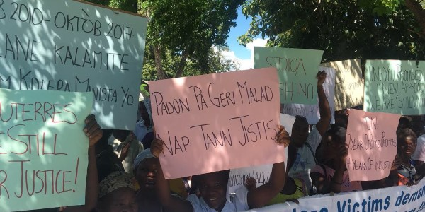 Letter to Editor: U.N. must make long-lasting amends to Haiti