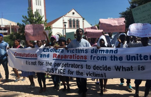 Haiti's Cholera Victims Call on UNSG Antonio Guterres to Act One Year after UN's Apology