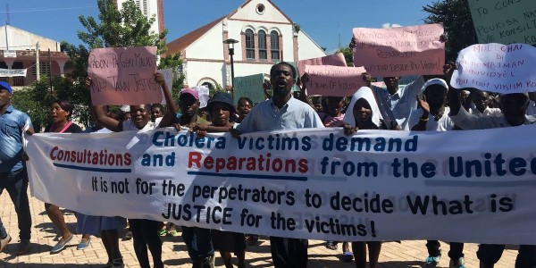 FOR IMMEDIATE RELEASE: One Year After UN Apology, Cholera Victims Call Out Unfulfilled Promises