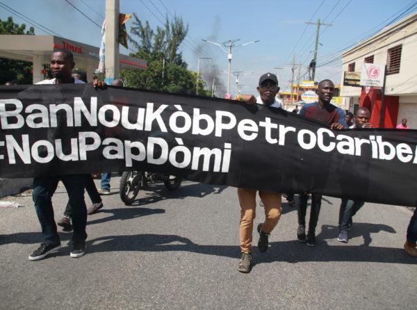 Current Protests in Haiti