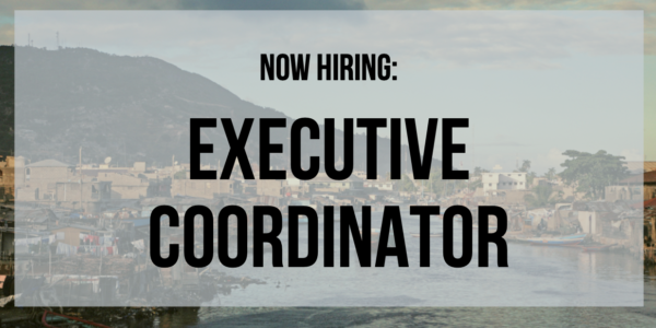 Now Hiring: IJDH Executive Coordinator