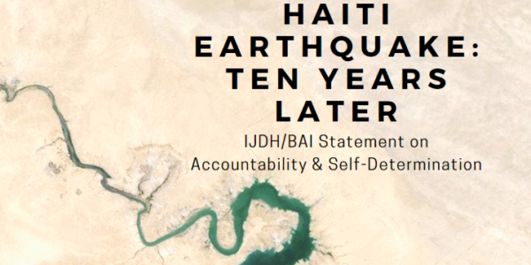 Ten Years On from Haiti's Earthquake, Accountability and Self-Determination Hold Keys to Change