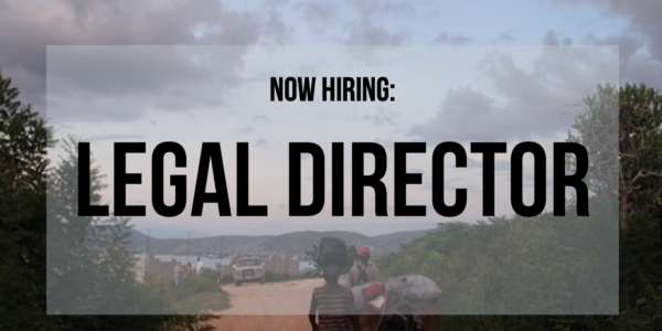 Now Hiring: IJDH Legal Director