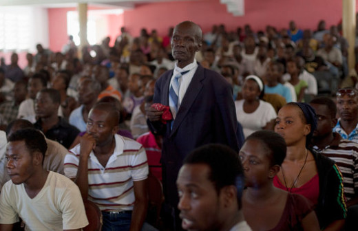 Raucous Trial Is a Test of Haiti's Legal System (New York Times)
