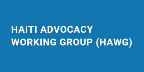 Haiti Advocacy Working Group